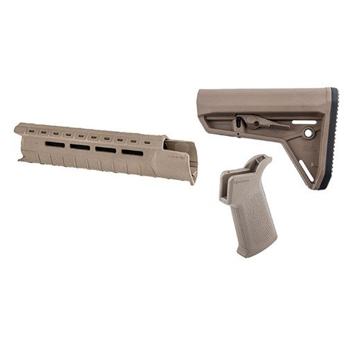 MOE-SL Furniture Set M-LOK Mid-Length Mil-Spec FDE