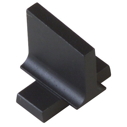 ".375"" Dovetail Front Sight Blank Steel Black"