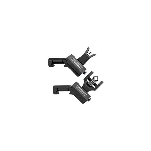 AR-15 Flip-Up 45 Degree Offset Sight Set Black