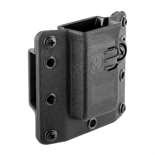 Copia Single Pistol Mag Carrier 9/40 Black Standard