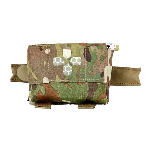 Micro Trauma Kit Now! Pouch Belt Mount Multicam