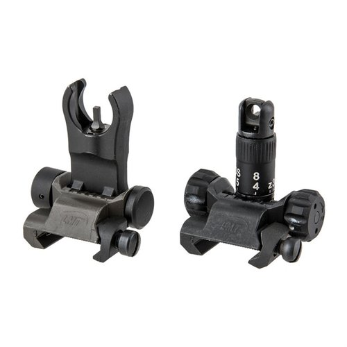 308 AR Back Up Iron Sight Kit Black