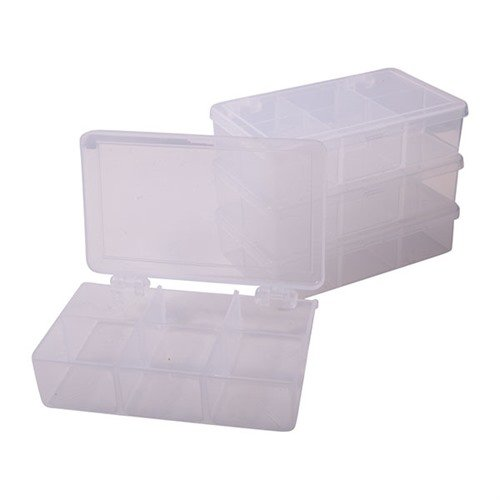 "4-1/2""x2-3/4""x1-1/4"", 6 Compartments Pkg. of 4"