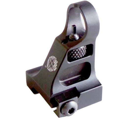 Fixed Front Sight Rail Mount Elevation Adjusment Wheel